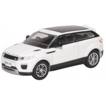 76RRE002 Oxford Diecast Range Rover Evoque Coupe Facelift Fuji White OO GAUGE