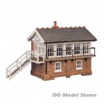 42-0060 MARCH WEST SIGNAL BOX N GAUGE