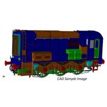 7D-008-013 Class 08 717 BR Blue Inverness O GAUGE