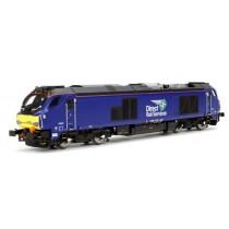 4D-022-015 DAPOL Class 68 026 DRS Plain Blue