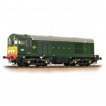 32-027B Class 20/0 Disc Headcode D8011 BR Green (Small Yellow Panels)
