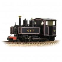 391-029 Baldwin 10-12-D Tank Glyn Valley Tramway Lined Black