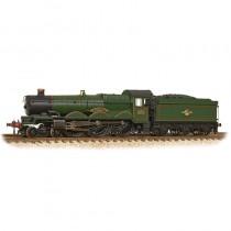 372-032 GWR 4073 'Castle' 5070 'Sir Daniel Gooch' BR Lined Green (Late Crest) N GAUGE