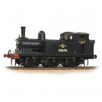 31-062 LNER J72 Tank 68696 BR Black (Late Crest)