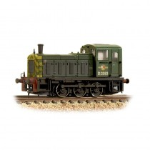 371-063 Class 03 D2383 BR Green Wasp Stripes Weathered N GAUGE
