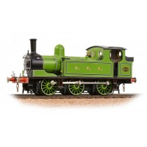 31-063 NER E1 2173 TANK NER LINED GREEN OO GAUGE