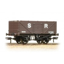 37-090 7 Plank Fixed End Wagon SR Brown