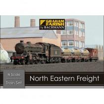370-090 NORTH EASTERN FREIGHT TRAIN SET