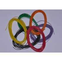 1199 Decoder Wire, 30AWG, yellow
