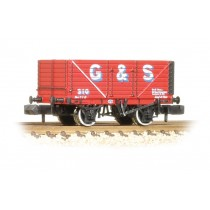 377-128 8 Plank End Door Wagon G&S Bull