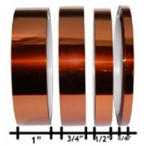 "1304 KT2 KAPTON INSULATION TAPE 1/2""WIDE"