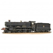 32-002A GWR 49XX 'Hall' 4971 'Stanway Hall' BR Lined Black (Early Emblem) WEATHERED