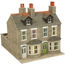 PO262 00/H0 SCALE TERRACED HOUSES IN STONE