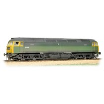 31-656 CLASS 47 BR GREEN WITH FULL YELLOW ENDS (WEATHERED)