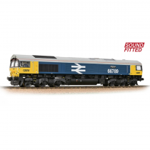 Class 66/7 66789 'British Rail 1948-1997' GBRf BR Blue (Large Logo) Sound Fitted