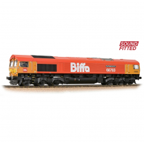 32-741SF Class 66/7 66783 'The Flying Dustman' GBRf 'Biffa' Red Soundfitted