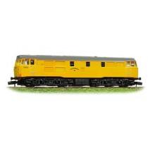 371-105 Class 31 Network Rail yellow
