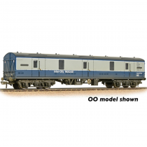374-137  Mk1 GUV General Utility Van BR Blue & Grey (Motorail) (Weathered)