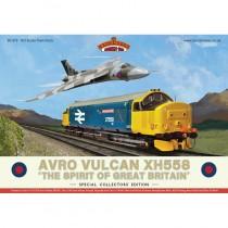 30-375 AVRO VULCAN XH558 CLASS 37 OO GAUGE LOCO IN SET