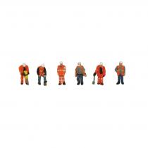 379-309 Trackside Workers N Gauge