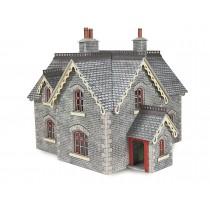 PO335 00/H0 SCALE SETTLE/CARLISLE STATION MASTER'S HOUSE