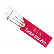 AG4150 Evoco Paint Brush Pack - Size 0/2/4/6
