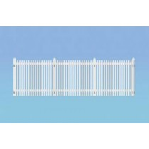 421 GWR STATION FENCING WHITE