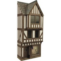 PO421 00/H0 SCALE LOW RELIEF TIMBER FRAMED SHOP
