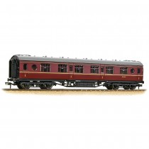 39-456 LMS 57ft 'Porthole' First Corridor BR Maroon