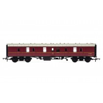 R4625 RailRoad, BR, Mk.1 Parcels Coach, BR Maroon