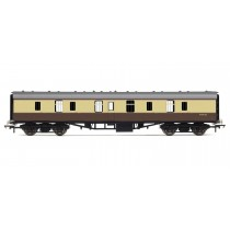 R4626 RailRoad, BR, Mk.1 Parcels Coach, BR Chocolate & Cream