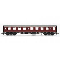 R4627 RailRoad, BR, Mk.1 Tourist Second Open Coach, BR Maroon