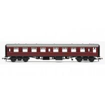 R4629 RailRoad, BR, Mk.1 Tourist Second Open Coach, BR Maroon