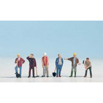 N15110 CONSTRUCTION WORKERS OO GAUGE