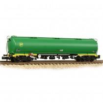 373-561 100 Ton TEA Bogie Tank Wagon 'BP' Green N GAUGE