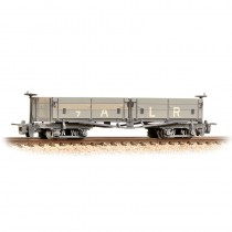 393-052 Open Bogie Wagon Ashover Rly Light Grey Weathered