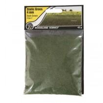 FS617 STATIC GRASS 4MM DARK GREEN