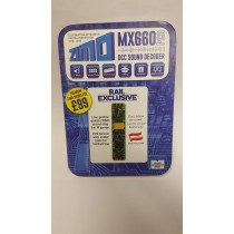 ZIMO MX660PCB SOUND DECODER