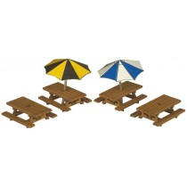 PN810 PICNIC TABLES N GAUGE