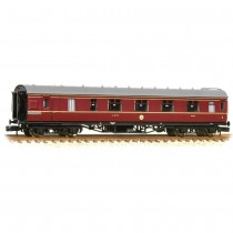 374-830C Stanier Brake First LMS Crimson Lake