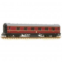 374-845C Stanier First Corridor LMS Crimson Lake