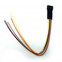 860086 6 Pin Female Socket with Wiring Harness
