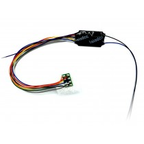 870021 4 FUNCTION DECODER 8 PIN HARNESS STAY ALIVE WIRES
