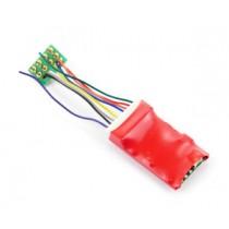 DCC90 Ruby Series 2fn Standard DCC Decoder 8 Pin