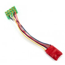 DCC92 Ruby Series 2fn Small DCC Decoder 8 Pin