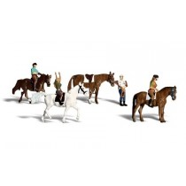 A1889 HORSES AND RIDERS HO/OO GAUGE