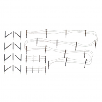A2980 Barbed wire fence HO/OO Scale