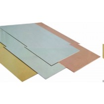 AS255 ALUMINIUM SHEET 0.016 X 4 X 10