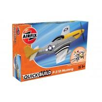 J6016 Airfix QUICK BUILD Mustang P-51D