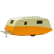 NCV001 ORANGE / CREAM CARAVAN N GAUGE